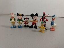 Marx Disneykin miniature plastic Disney  figures  vintage mickey and friends