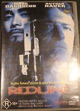 REDLINE (1997) R4 DVD RARE OOP DELETED CULT DRAMA MOVIE RUTGER HAUER FILM