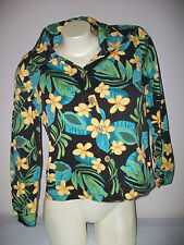 Women's JANE ASHLEY Size Small 100% Cotton Top Or Jacket