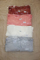 PIKO T2196 Authentic Bamboo Short Sleeve Crew Neck Tunic Top - S M L NWOT