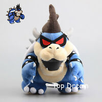 "Dark Bowser Super Mario Bros Boss Koopa Plush Toy Stuffed Animal Figure Doll 11"""