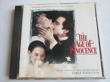 THE AGE OF INNOCENCE - ELMER BERNSTEIN (1993) Original Soundtrack