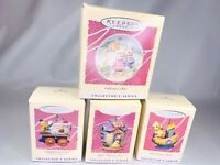 Hallmark Keepsake Ornaments 1997 Spring Collection Easter Lot of 4