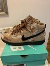 Nike SB Dunk High Pro Parachute Beige / Black Desert Brown Camo Size 9.5