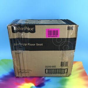 Fisher Price Sit Me Up Floor Seat for Baby Interactive Green/Grey/Blue #NO5945