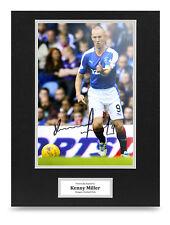 Kenny Miller Signed 16x12 Photo Display Rangers Autograph Memorabilia + COA