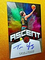 TRAE YOUNG 2018-19 Panini Chronicles Ascent Rookie Auto /99 On Card Autograph RC