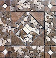 "21 9/16"" Tile Medallion - Daltile's Franciscan Slate tile, floor or wall"
