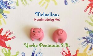 Pigs Bum studs Melvellous earrings
