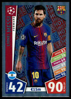 2017-18 Topps UEFA Champions League Match Attax - Pick A Card - Cards 1-220