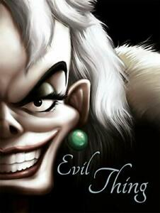 Disney Classics 101 Dalmatians: Evil Thing (Villain Tales) New Paperback Book