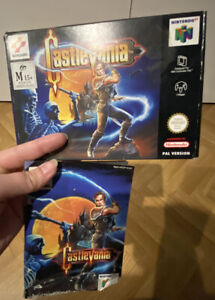 Castlevania 64 - Box And Instruction Booklet Only - N64