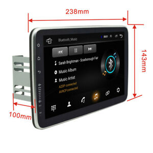 "9"" Inch Ultrathin 2Din Android9.1 Car Stereo Radio GPS MP5 WiFi 1G+16G Head Unit"