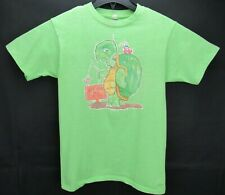 New listing Vintage 1975 Get Off My Case! Size M Turtle Print T Shirt Single Stitch Thin