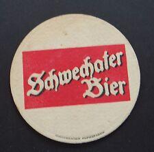 Ancien sous-bock bière SCHWECHATER BIER  coaster Bierdeckel 5