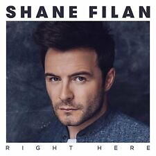 SHANE FILAN RIGHT HERE CD ALBUM (SEPTEMBER 25th 2015)