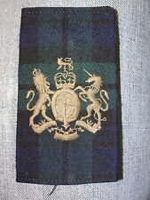 Fourreau grade poitrine REGIMENTAL SERGEANT MAJOR du Royal Regiment of Scotland