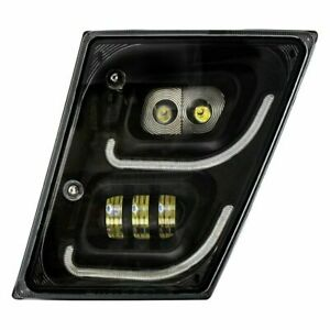 For Volvo VNL 13-17 United Pacific Driver Side Projector LED Fog Light w DRL