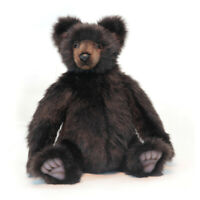 Grizzly Brown Bear Hansa Realistic Soft Animal Plush Toy 46cm **FREE DELIVERY**