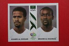 PANINI FIFA WORLD CUP GERMANY 2006 06 N. 592 SAUDI ARABIA  MINT!!!