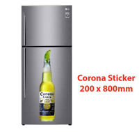Corona Beer Bottle Sticker 200x800mm Decal Plaque Sign Poster FREE DELIVERY