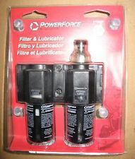 "2 Piece Lot of Pneumatic 1/4"" Filter/Lubricator Ingersoll Rand Pf2050"