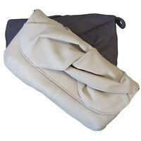 Womens Clutch / Shoulder / Evening Bag in Purple or Beige