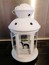 More details for saluki, gift, white,dog, anniversary, garden, indoor, xmas, birthdays, wedding