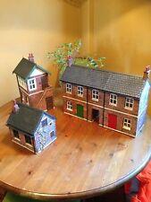 Garden Railway G Gauge 1:24th Scale Terrace row, Signal Box And Hut Starter Kit