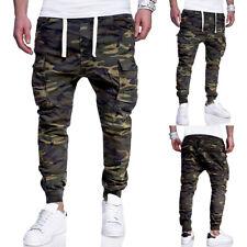 ✅ Herren Camo Cargohose Hose Jogger Armee Jogginghose Stretch Pants Camouflage