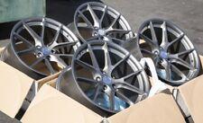 19X9.5 AodHan LS007 5X114.3 +35 Gun Metal Wheels Aggressive Fits Accord Rx8 TL