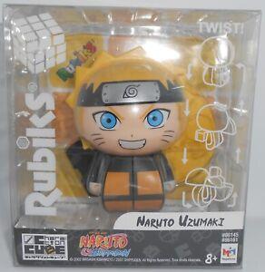 Rubiks Charaction Cube Naruto Shippuden Naruto Uzumaki NEW 2021 Bandai