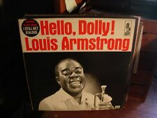NO SURPRISES HERE PLAY GRADED LP ARMSTRONG Hello Dolly! LP Kapp MONO Sounds New