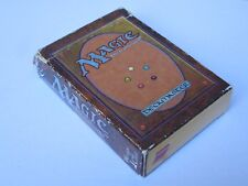 MTG Alpha Starter Deck Empty Box (No cards or rulebook) Magic the Gathering