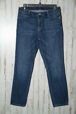 Tommy Hilfiger Ladies size 12 Greenwich Ankle Stretch Denim Jeans (4278