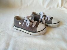 BOYS CONVERSE STYLE TRAINER  - LEE COOPER SIZE 4