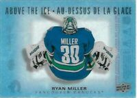 2015-16 Upper Deck Tim Hortons ABOVE THE ICE Ryan Miller AI-RM