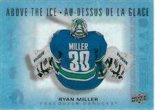 2015-16 Upper Deck Tim Hortons ABOVE THE ICE Ryan Miller AI-RM