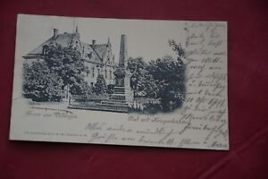 Gruß aus Villingen  sehr  alte Postkarte