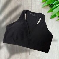 Beyond Yoga Women's Lift Your Spirits Plus Size Black Sports Bra NWT - Size 2X