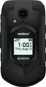 VERIZON, KYOCERA DURAXV E4610PTT 16GB FLIP CELL PHONE LTE