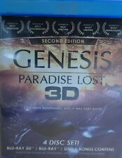 New listing Genesis Paradise Lost 3D BLU-RAY 4 Disc Set!