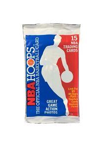 1989-90 NBA Hoops Series 1 Basketball Pack - 15 Cards