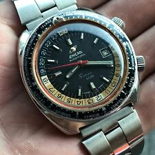 Vintage Enicar Sherpa Guide GMT Super Compressor