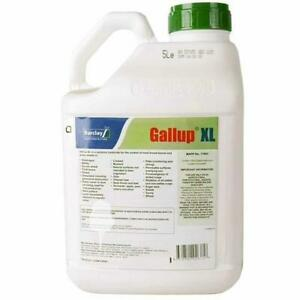 5L GALLUP XL - PROFESSIONAL STRENGTH GLYPHOSATE - TOTAL WEED KILLER