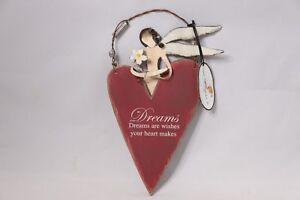 Sunset Vista Designs Angel Heart Hanging Decoration Dreams...