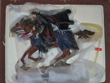 SIDESHOW WETA Lord of the Rings LOTR Aragorn at the Black Gate w/ Steed