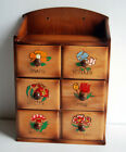 Vintage+Sewing+Box+Wood+Table+or+Wall+Mount+Kitsch+Novelty+Made+in+Japan