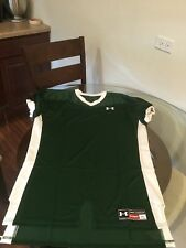 Nwot Under Armour Blank Pro Cut Green Authentic Football Jersey Xl New W/O Tags