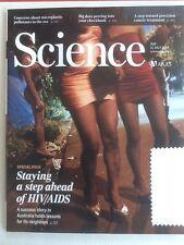 AAAS Science Magazine Vol 345 N 6193 11 July 2014 HIV AIDS Australia Cancer